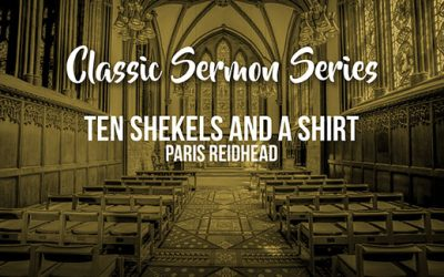 190121: Ten Shekels and a Shirt