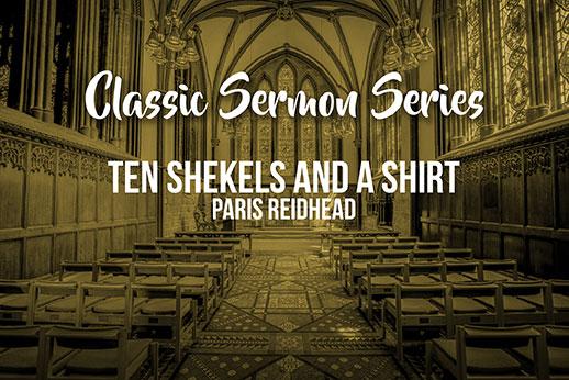 190121: Ten Shekels and a Shirt