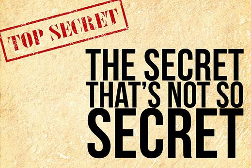 191021: The Secret That's Not So Secret